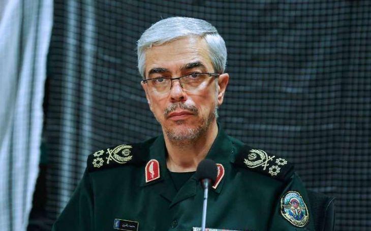 اللواء باقري : الامن مستتب بشكل كامل في ايران