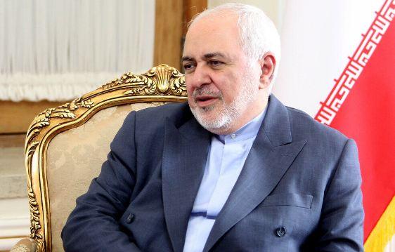ظریف یتحدث عن جهود ایران فی المنطقة من اجل السلام ومکافحة الارهاب