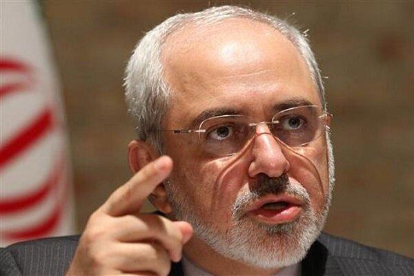 ظريف مخاطباً ترامب: إيران لن تبدأ أي حرب ولكنها ستؤدب مثيري الحروب
