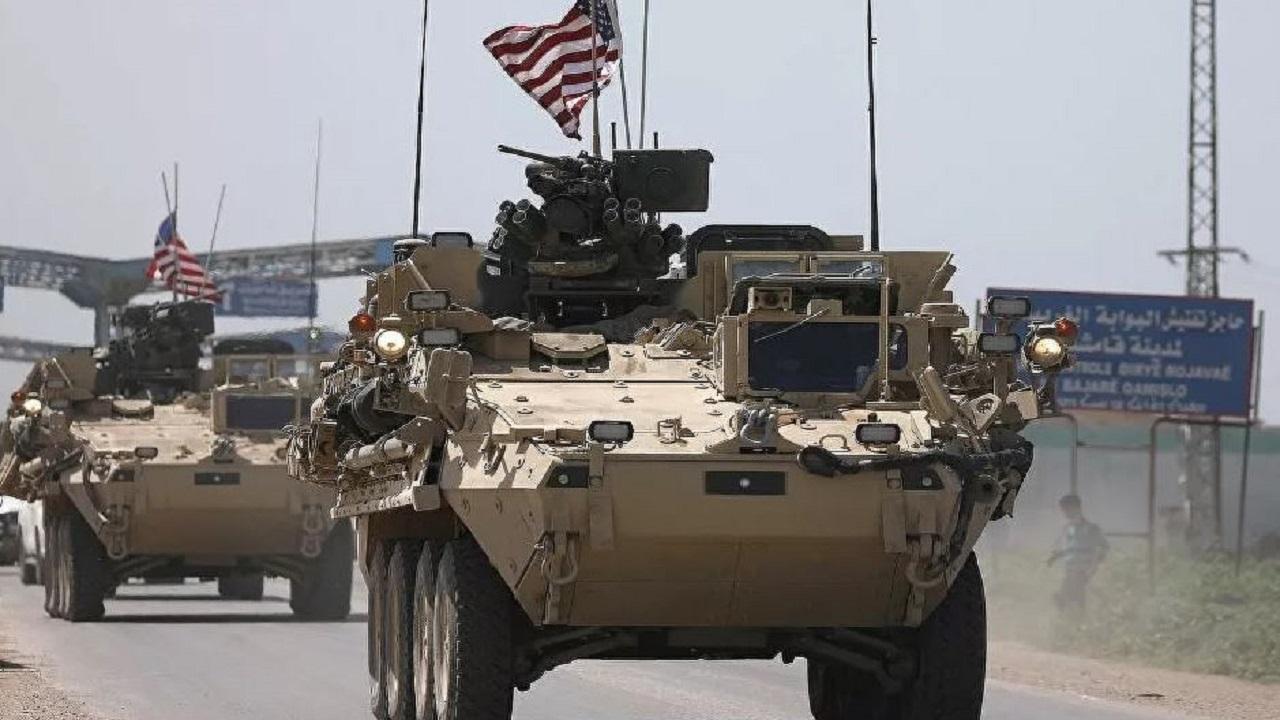 قافلة معدات عسكرية أمريكية تدخل سوريا قادمة من العراق