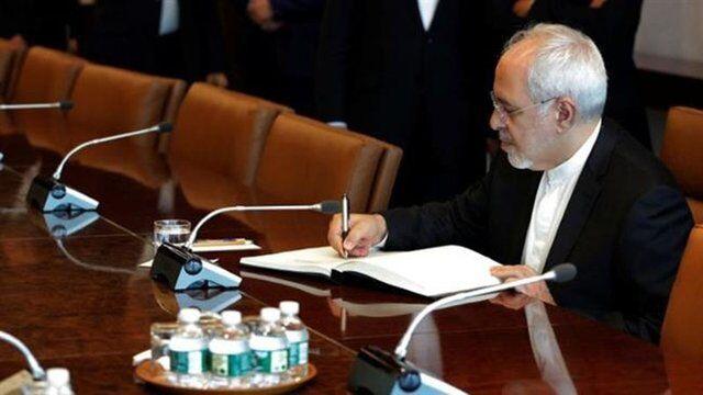 ظريف يطلع الأمم المتحدة على الخروقات الأمريكية