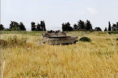 تحرك لافت واستفزاز لدبابات الميركافا في الأراضي اللبنانية المحتلة من بلدة العديسة