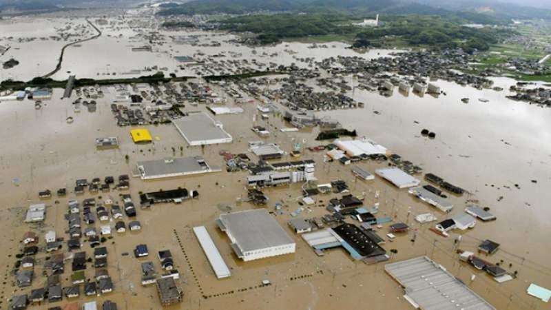 قتلى ومفقودون جراء الفيضانات في اليابان