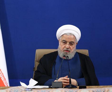 روحانی: الاعلام المعادی یحاول تضلیل أبناء الشعب الایرانی