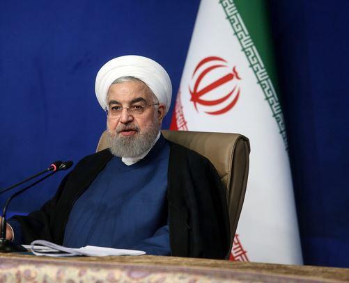 الرئيس روحاني: امريكا تحاول نقل مشاكلها الى الخارج
