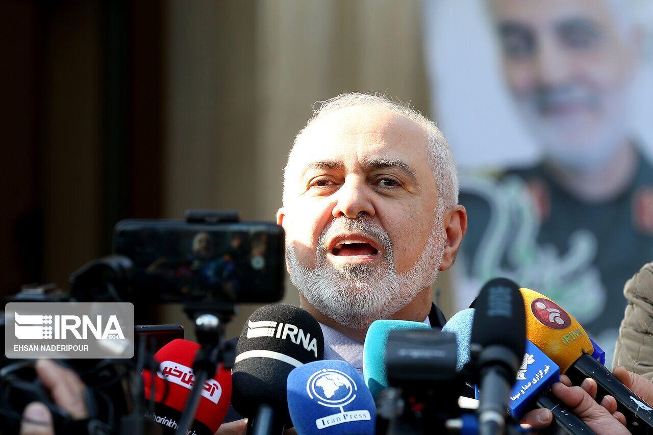 ظريف: تخت روانجي لم يتفاوض مع امريكا