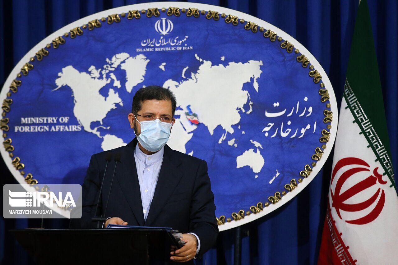 خطيب زادة: عودة امريكا الى الاتفاق النووي يجب أن تكون نابعة من المسؤولية والالتزام