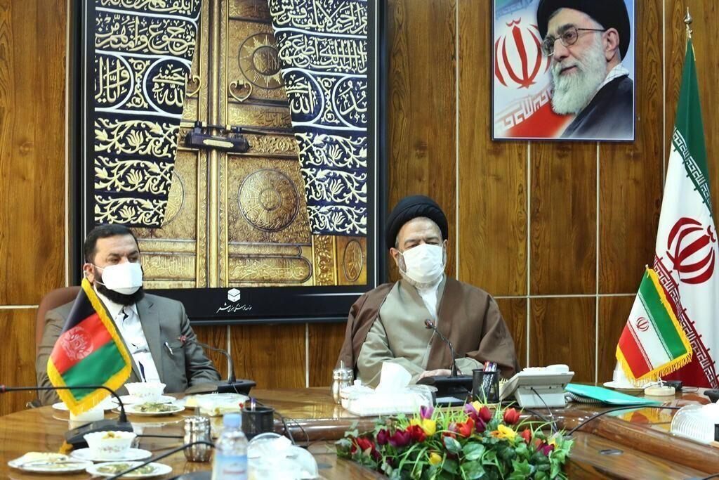 مباحثات ايرانية افغانية لتقاسم الخبرات في مجال الحج