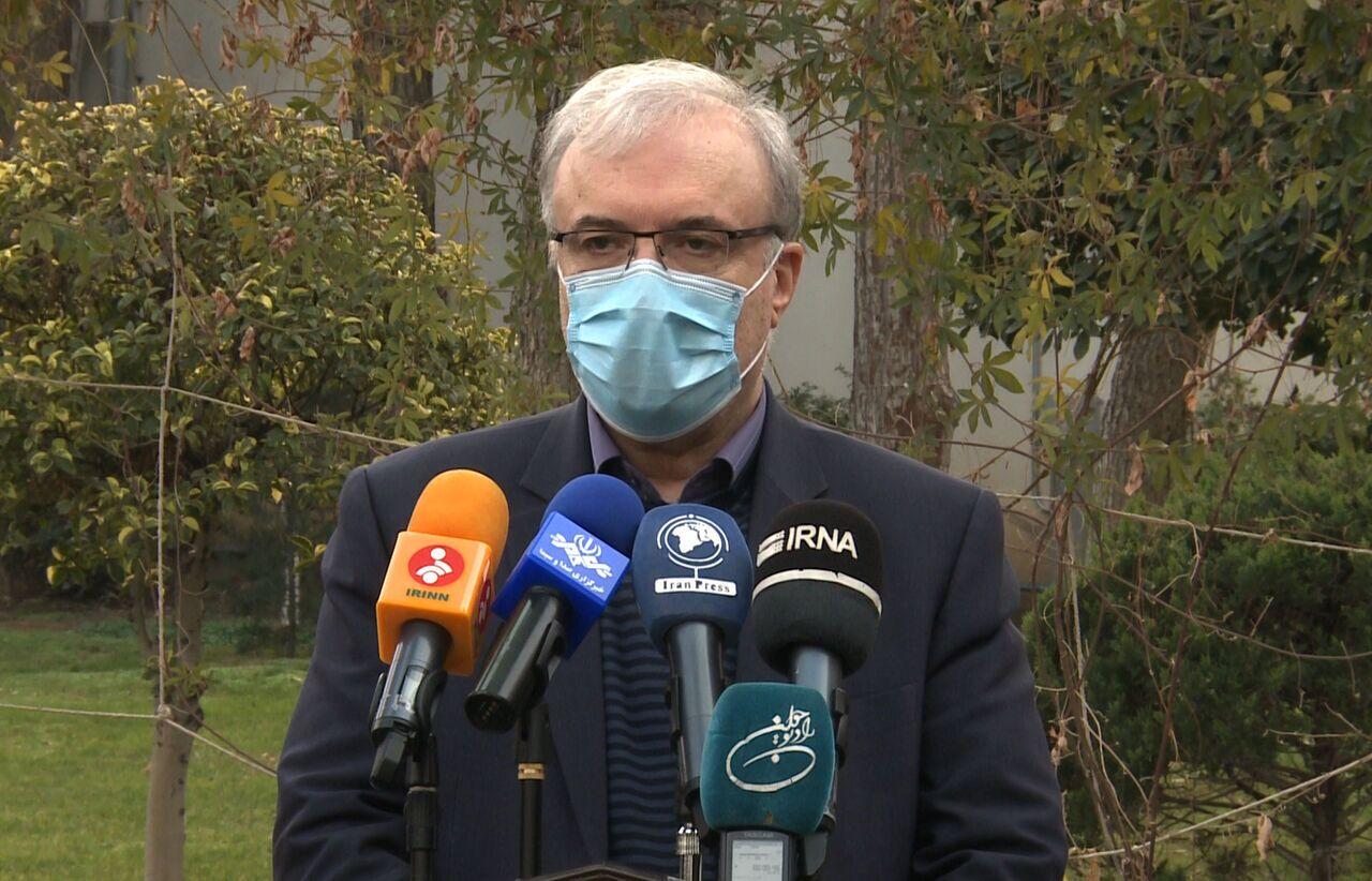 وزير الصحة: إيران على وشك الاكتفاء الذاتي من أجهزة إدارة كورونا