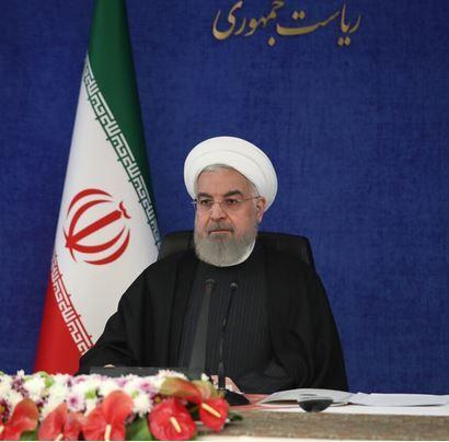 الرئيس روحاني: يجب رفع العقوبات الظالمة عن الشعب الايراني