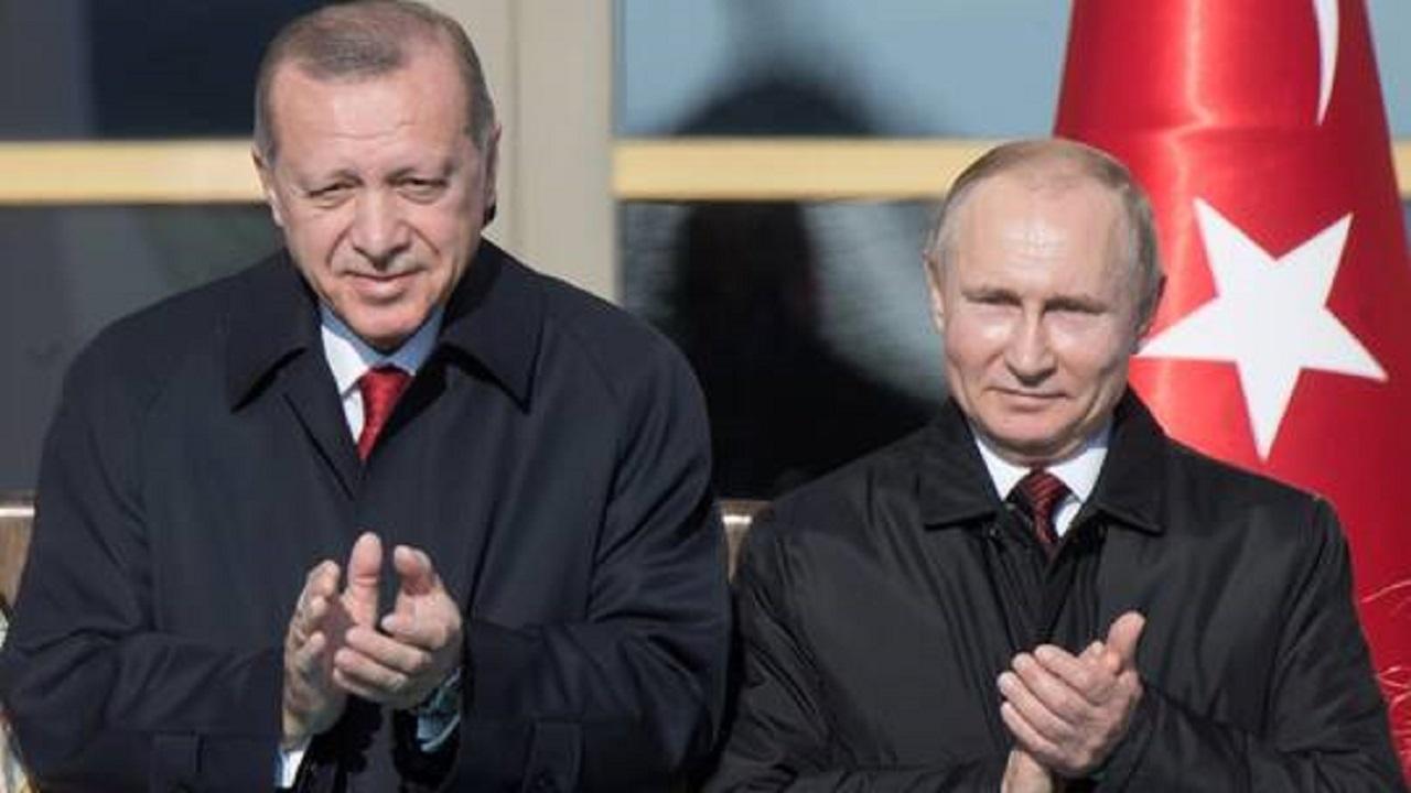 بوتين وأردوغان يدشنان بناء وحدة الطاقة الثالثة لمحطة