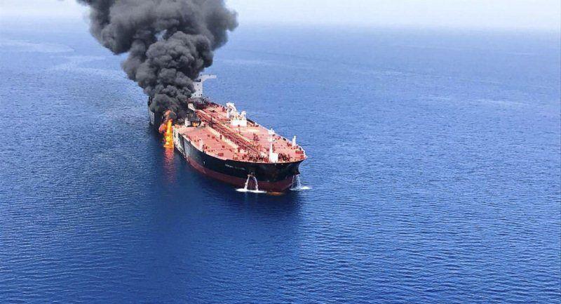 هجوم ارهابي على سفينة تجارية ايرانية في البحر المتوسط
