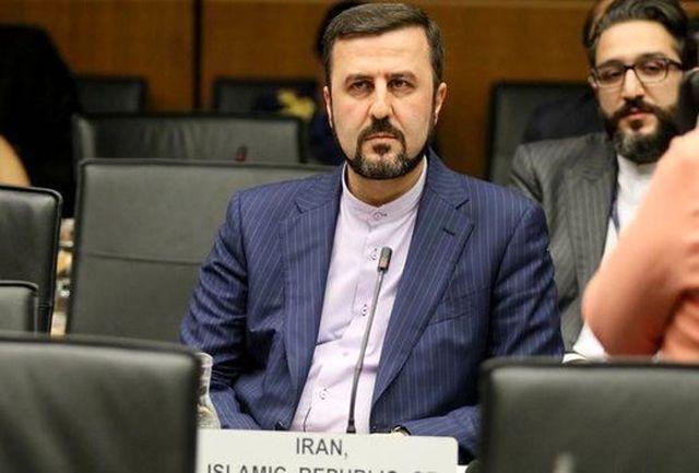 ايران تنتقد الوكالة الذرية لعدم اتخذها اي اجراء ازاء التهديد النووي الصهيوني