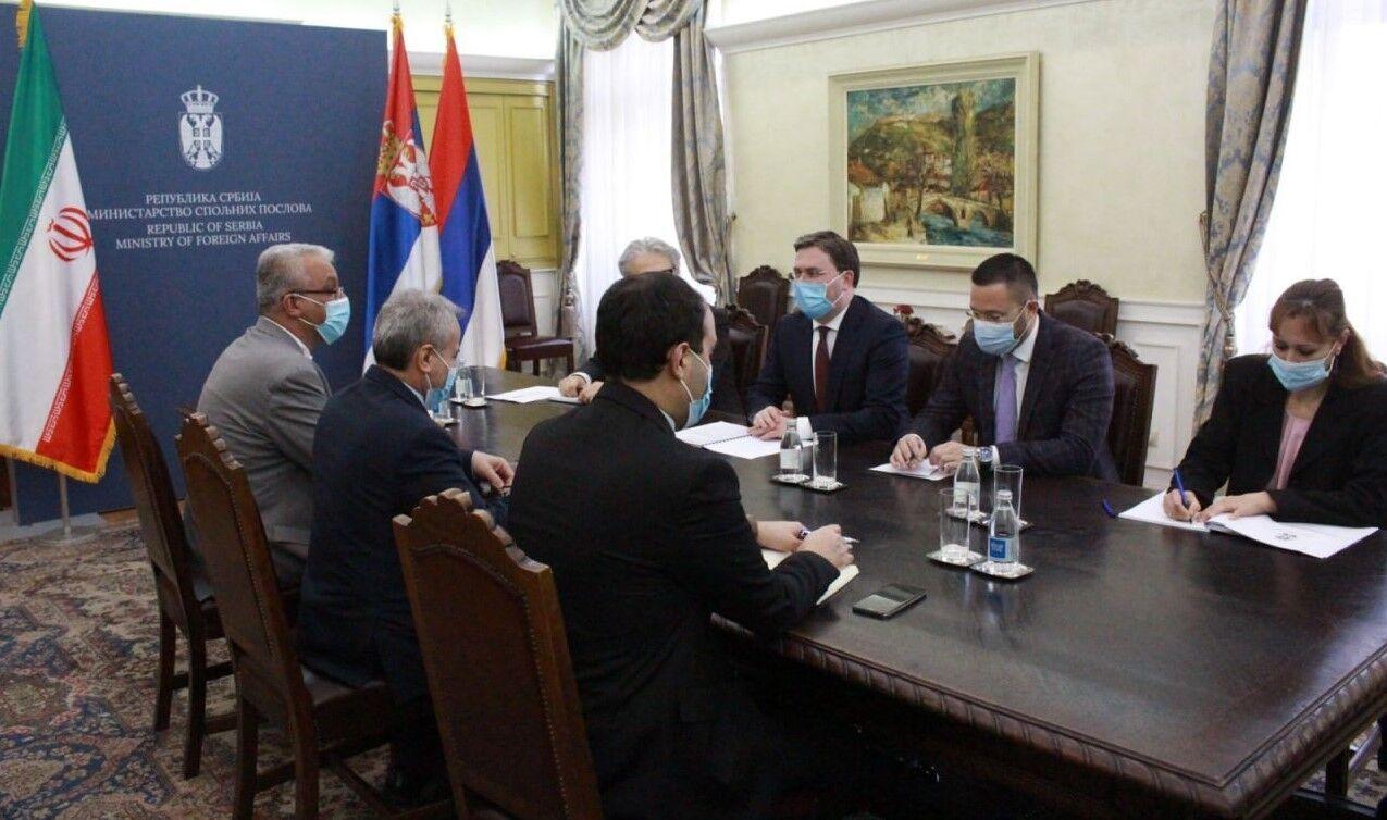 وزير خارجية صربيا يدعو لتطوير العلاقات مع ايران