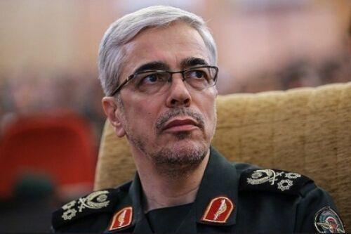 اللواء باقري يعزي بمصرع عدد من العسكريين الاتراك في حادث سقوط المروحية