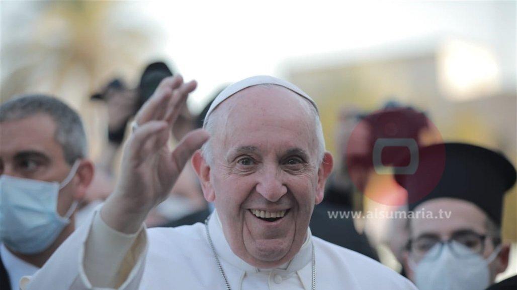 البابا فرنسيس يدعو المسيحيين للعودة إلى الموصل والقيام بدورهم