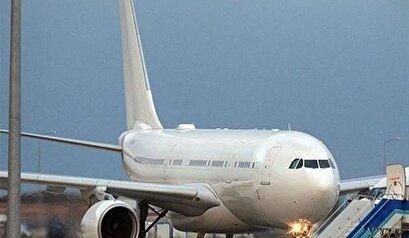 هبوط طارئ لطائرة هندیة لنقل الركاب في جنوب شرق ايران