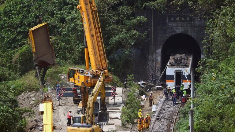 التحقيق مع المتسبب بأسوأ كارثة قطارات في تايوان