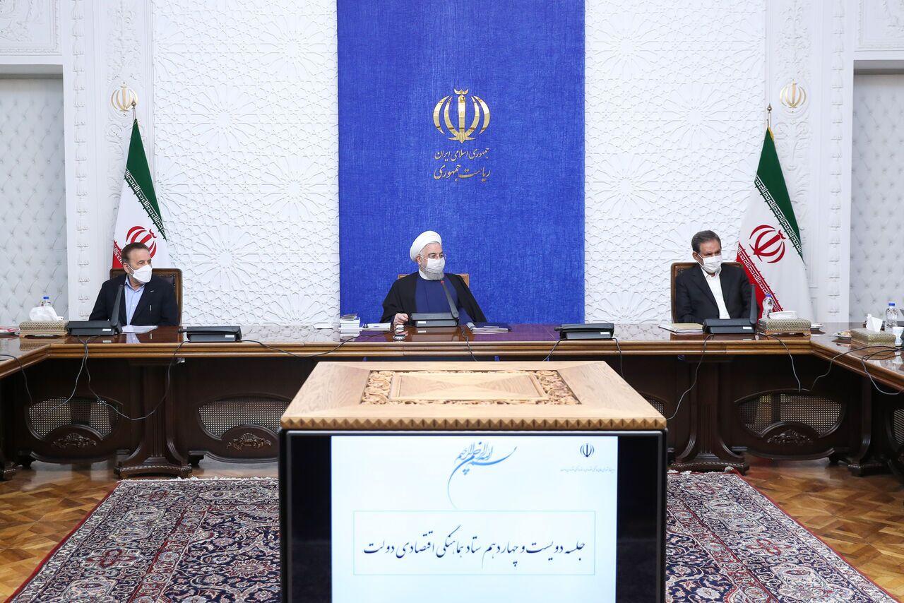 روحاني : دعم الانتاج وازالة الموانع بحاجة الى خطوات تنفيذية وعملية