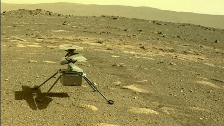 ناسا تعلن موعد أول تحليق للمروحية على المريخ
