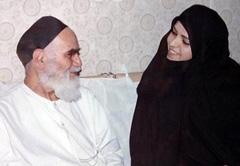 Zahra Eshraqi and Imam Khomeini