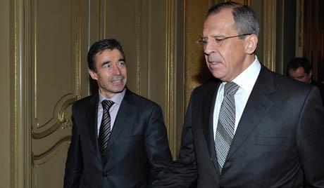 Lavrov, Rasmussen