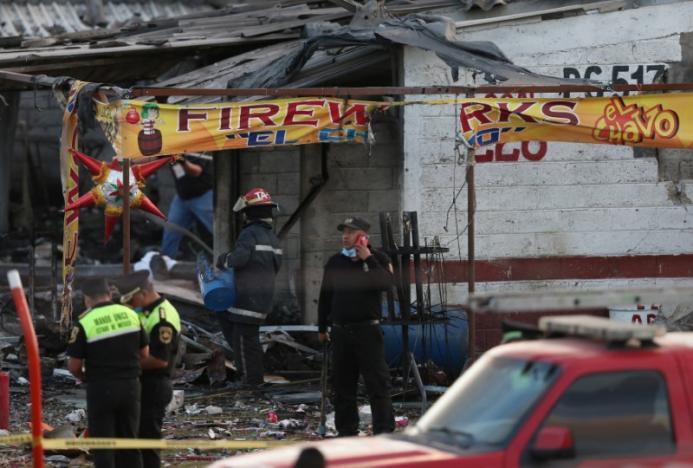 Mexico fireworks market blasts kill at least 31, injure scores