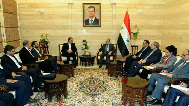 Iran, Syria Deputy FMs meet in Damascus