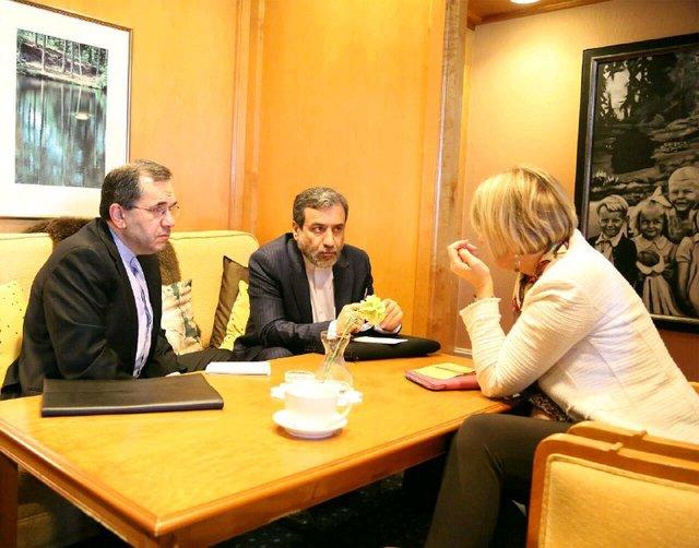 Iran deputy FMs, Schmid meet in Vienna