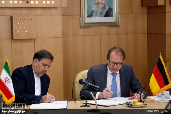 Iran, Germany ink transportation deals