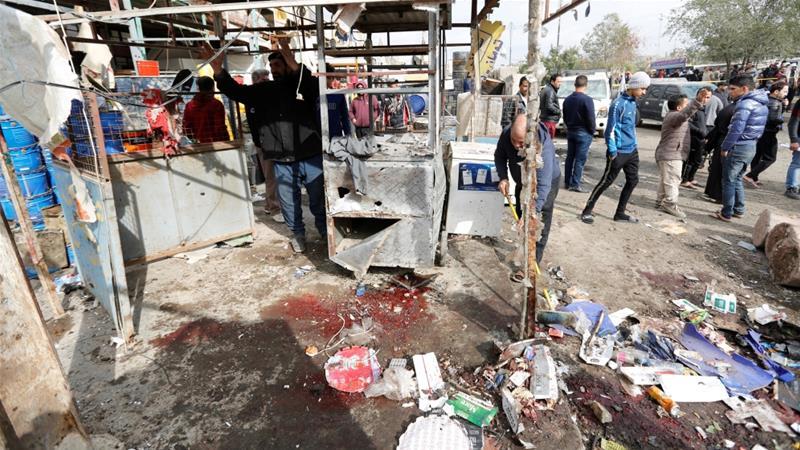 Iran condemns Baghdad attacks