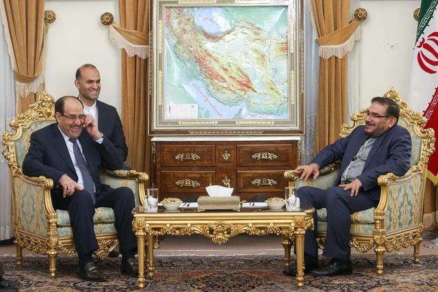 Iran's Shamkhani, al-Maliki discuss Iraq developments