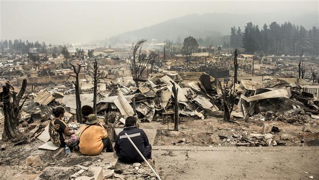 Chile arrests 43 over raging forest fires