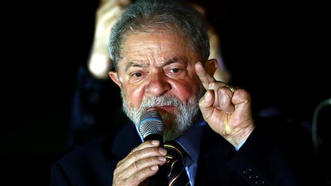 Brazil's Lula ahead in poll despite graft conviction
