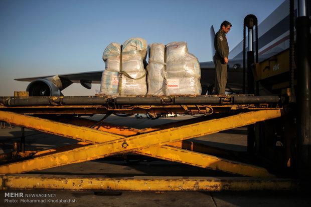 Iran loading humanitarian aid for Myanmar refugees