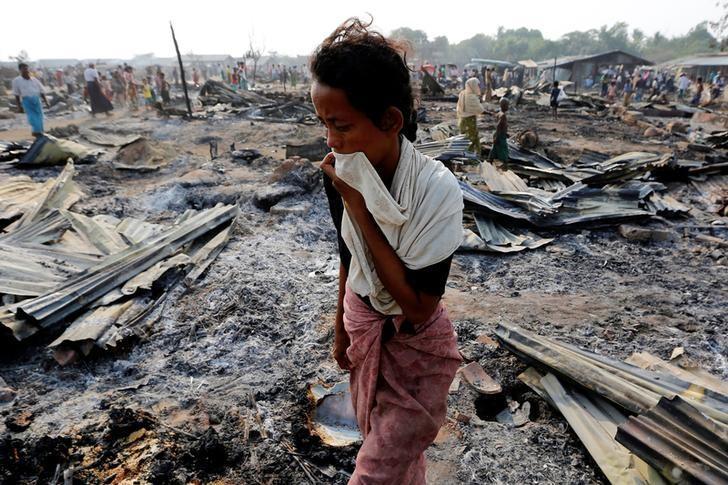 Rohingya not native, Myanmar army chief says