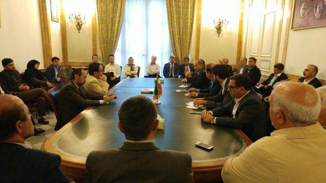 Iran envoy stresses boosting Tehran-Paris economic ties
