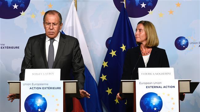 EU, Russia, China rally behind Iran deal ahead of Trump speech