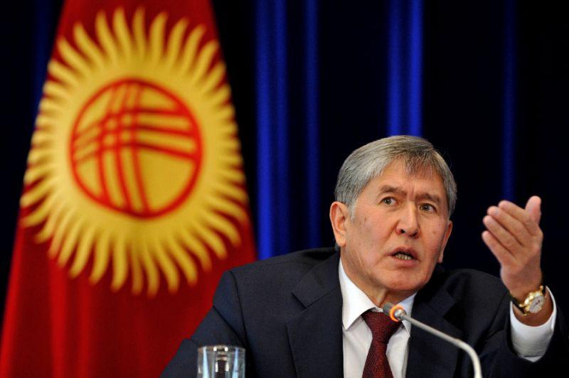 Kyrgyz president's chosen successor leads in presidential election