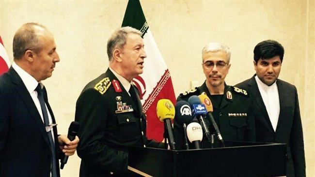 Iran, Turkey back Iraq's integrity, voice opposition to Kurdish secession