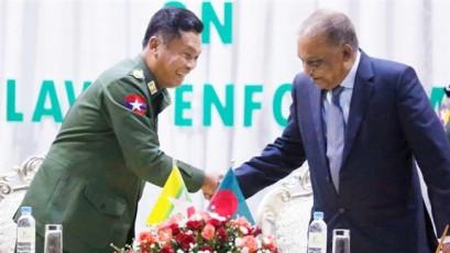 Myanmar, Bangladesh agree to stop 'outflow' of Rohingya Muslims to Bangladesh