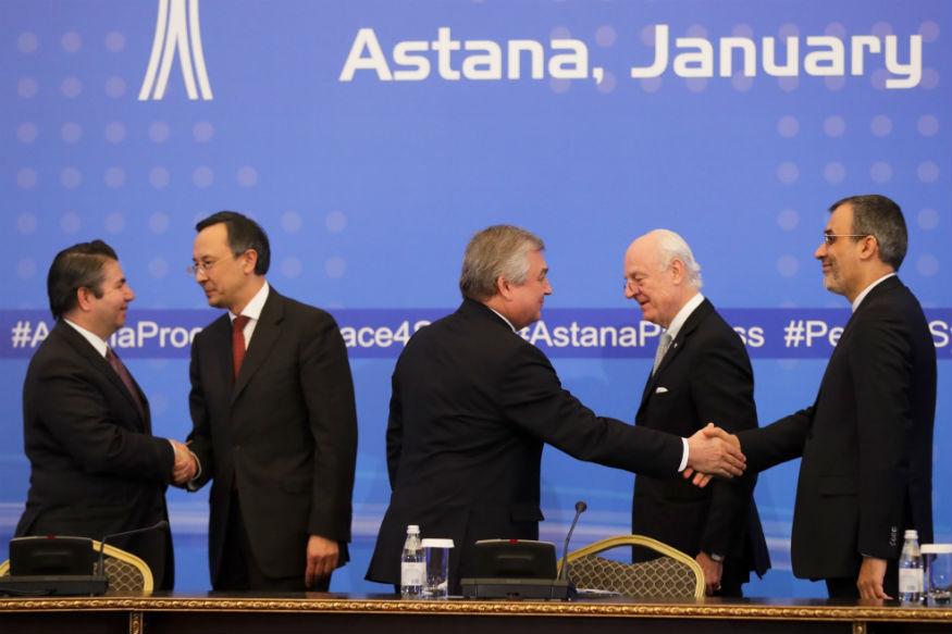 Iran, Russia coordinate plans for Astana talks
