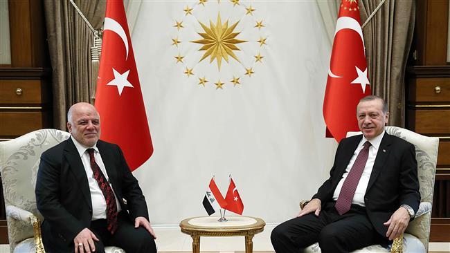 Iraq's Abadi in Turkey for talks on Kurds