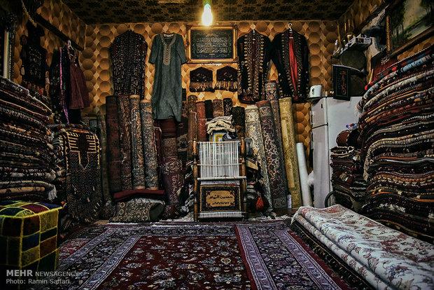 Mashhad carpet market