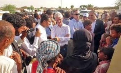 UN aid chief: Humanitarian conditions 'shocking' in Yemen