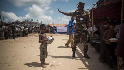 145,000 Rohingya children face malnutrition