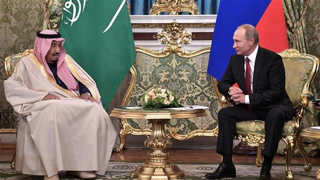 Putin, Salman hold talks behind closed doors in Moscow