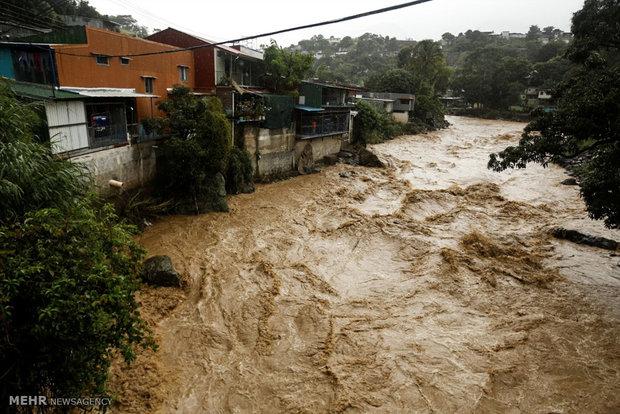 Hurricane Nate in Central America