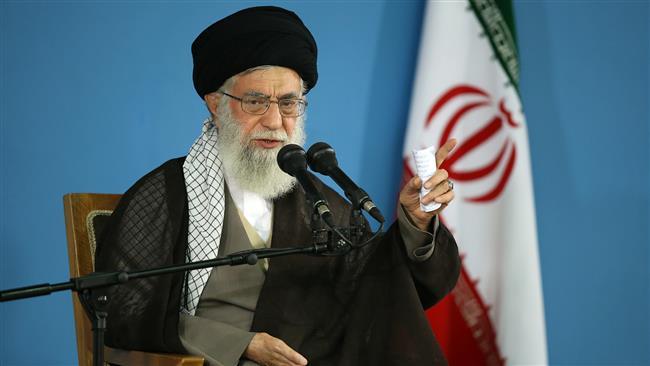 Ayatollah Khamenei urges Islamic world to continue anti-Israel fight