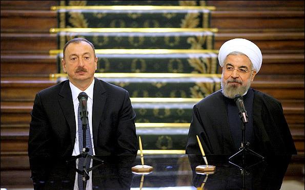 Rouhani: Iran, Azerbaijan resolute to widen bilateral ties in all fields